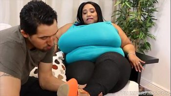 مارس الجنس ضخمة من الدهون وتعادل من قبل الأب