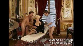 اللسان والجنس الجنس مع رجلين وامرأة